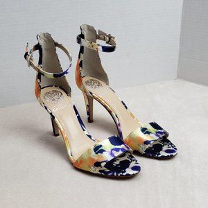 Vince Camuto Court Ankle Strap Heels, Size 7